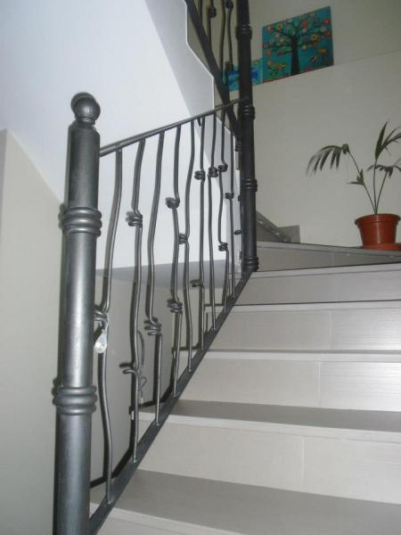 Talleres villamond carpinter a de aluminio y hierro barandillas - Barandillas de hierro ...